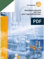 Brochure détecteurs inductif tout inox pour l'agro-alimentaire (2008)