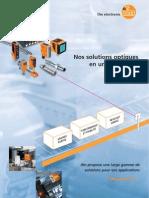 Brochure détecteurs optoélectroniques France 2012