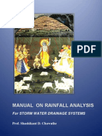 Manual on Rainfall Analysis For Storm Water Drainage Systems, Second Edition