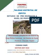Perfil de Irrigacion Molino Camiraya Final