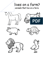 Farm Animals Fisa