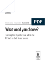 2011 WWF Report on Timber Sourcing