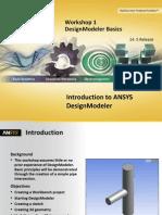 DM-Intro 14.5 WS-01 DesignModeler Basics