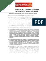 Reorganizacion CGBVP