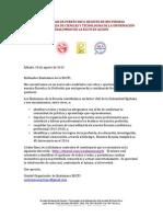 Carta y Cuestonario Para Exalumnos EGCTI2013
