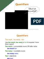 Quantifiers pre-intermediate
