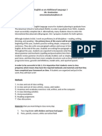 Ms. K EAL 3 Course Outline 2013-2014