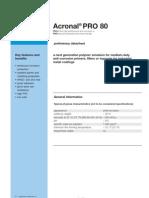 Acronal Pro 80