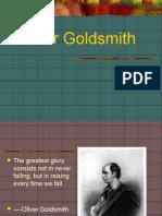 Students'Presentation  on Oliver Goldsmith