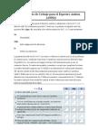 Cuestionario de Cribaje Para El Espectro Autista