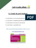 Le Guide Du Pret Etudiant - Financetesetudes.com