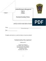 Rockland Auxiliary PoliceApplication
