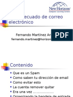 Uso adecuado de correo electronico