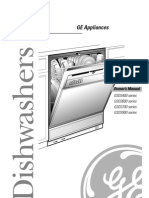 Dishwasher GE GSD3715, GSD3725, And GSD3735