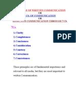 7 Principles of Communication