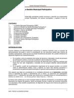 Modelo de Gestión Municipal Participativo