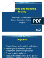 Grounding and Bonding Testing - Mike Lewis
