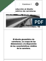 01.01 Clase Introductoria Caminos i - 2010 i - Ok