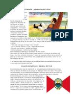 Historia de La Bandera Del Peru