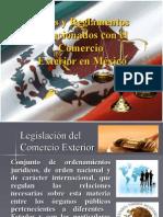 Leyes y Reglamentos relacionados con el Comercio Exterior en México