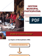 Gestion Municipal Participativa