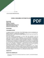 Bioquímica Estomatologico I