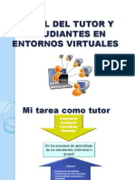 Rol Docente-estudiante Virtual