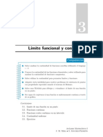 3 Límite funcional y continuidad
