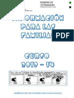 Informacion Familias 2013-14