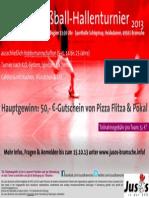 Flyer Fuba-Turnier 2013