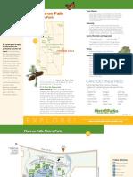 Munroe Falls Metro Park Brochure