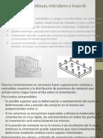 Presentacion Analisis de La Cimentacion Como Reticula Bidimensional