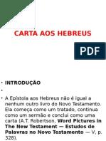 Carta Aos Hebreus