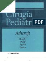Ashcraft - Cirugía pediátrica