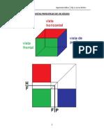 Vista principales de un sólido pdf