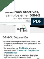 Trastornos Afectivos, Cambios en El DSM-5