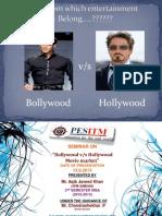 Bollywood v/s Hollywood