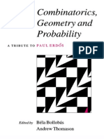 Combinatorics ,Geometry and Probability