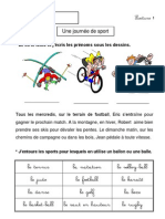 Une-journée-de-sport-Cp-Ce1-Lecture-compréhension-Français-Cycle-2