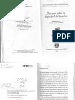 Della Mirandola, Giovani Pico - Disertación_sobre_la_dignidad_del_hombre