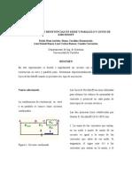 COMBINACIÓN DE RESISTENCIAS EN SERIE Y PARALELO Y LEYES DE KIRCHHOFF