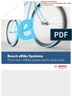 Bosh Ebike Spares Parts Pricelist