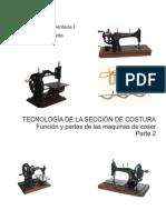 Tipos de Costura Maquina Recta Industrial