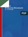 Bank Indonesia, Kajian Stabilitas Keuangan No.12 Maret 2009