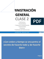 Ip Chile - Adm. General - Clase 2