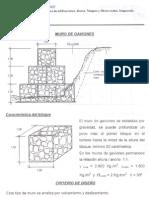 Diseño de Muros de Gaviones