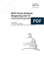 Memorandum of Understanding - IUOE (Bargaining Unit 12)
