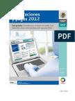 Declaraciones y pagos 2012. Arrendamiento de bienes inmuebles (deducción opcional 35%)