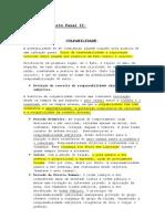 Resumo de Direito Penal II