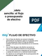 Un Modelo Sencillo El Flujo o Presupuesto de Efectivo(v1)